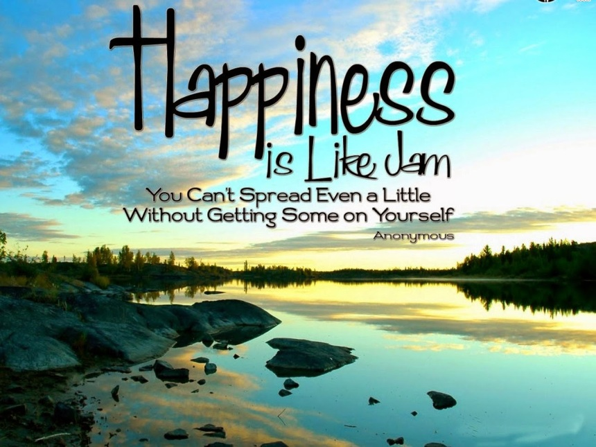 Positive-quotes-Happiness-is-like-jam